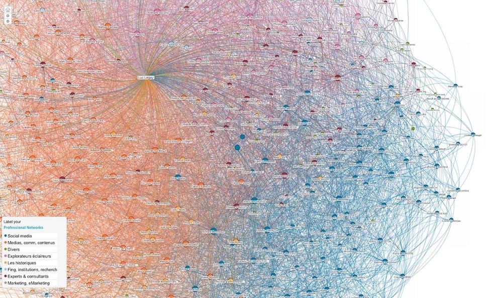 Big Data: LinkedIn Map Visualization