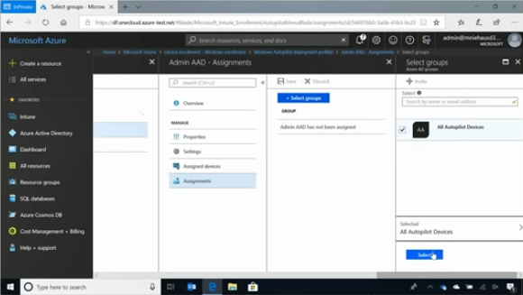 6  Modern deployment with Windows Autopilot and Microsoft 365  Part 1 of 2    BRK3014   YouTube (8)