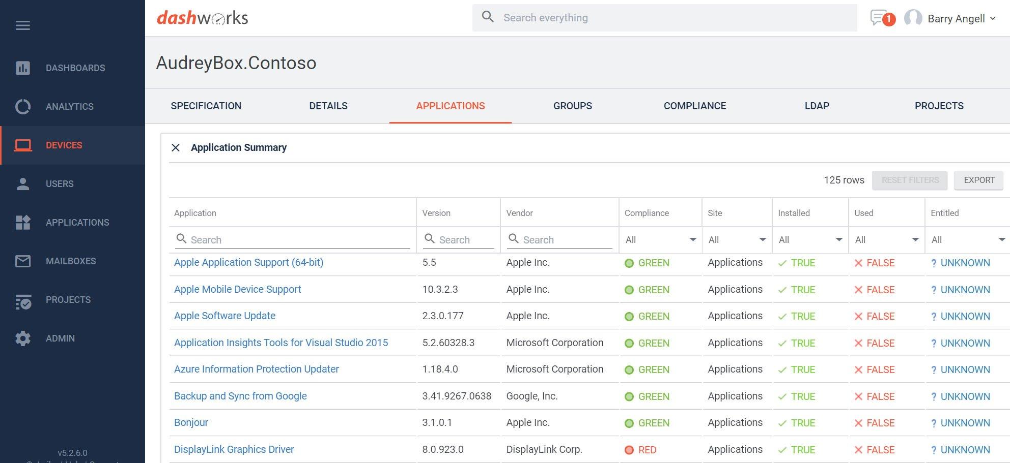 Dashworks - Windows Analytics Upgrade Readiness Connector - Computer Information
