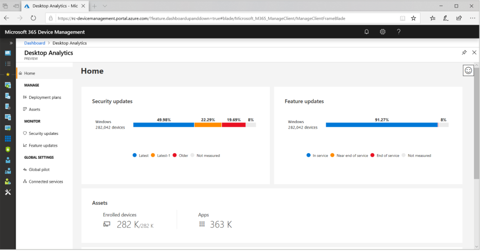 Desktop Analytics - Configuration Manager   Microsoft Docs