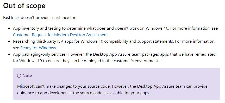 DesktopAppAssure_OutOfScope