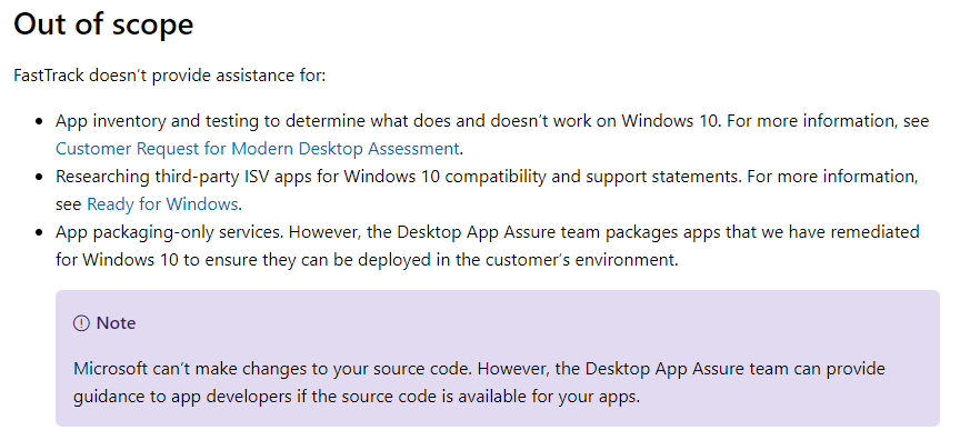 What Microsoft Desktop App Assure Is — And What It Isn't
