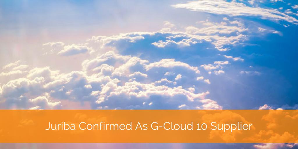 G-Cloud 10 blog