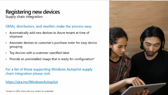 Modern deployment with Windows Autopilot and Microsoft 365  Part 1 of 2    BRK3014   YouTube (2)